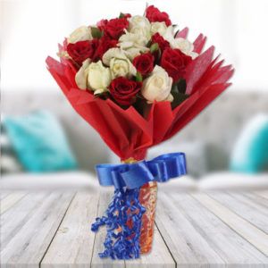 White Roses Online Delivery Durgapur